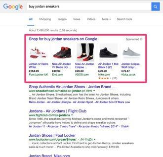 Anuncios B2C Google Shopping