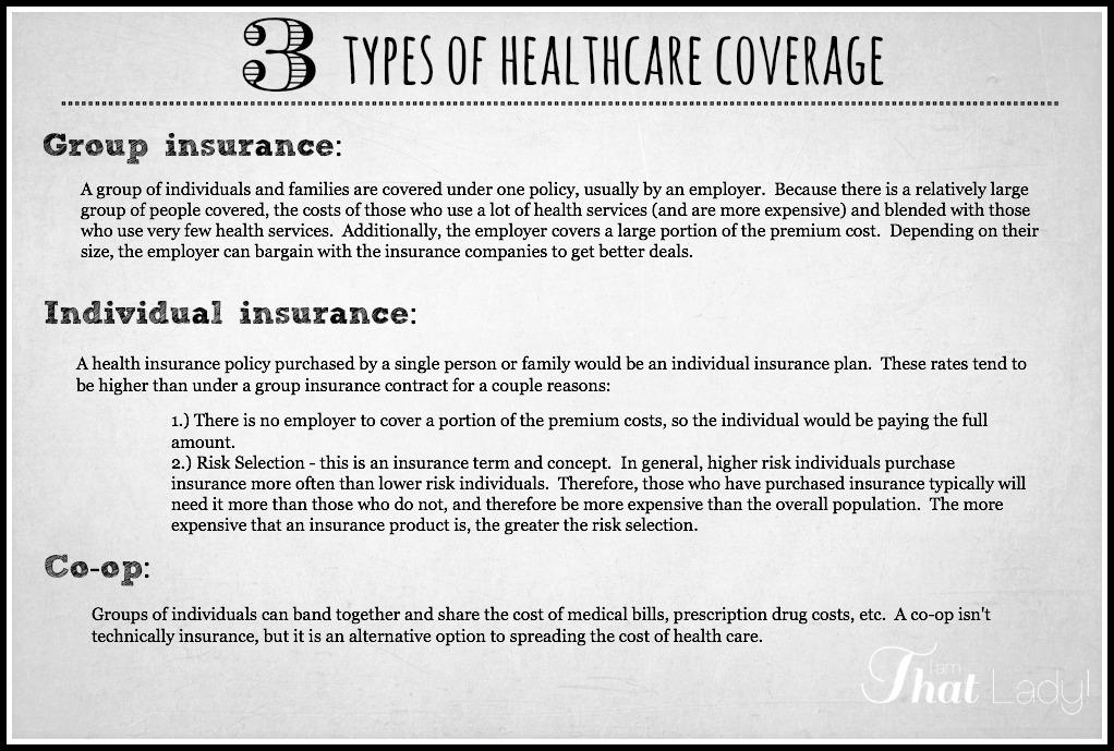 Los 3 tipos diferentes de seguro de salud
