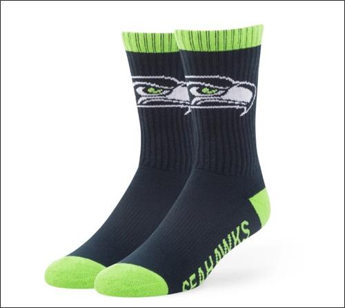 calcetines de su equipo favorito
