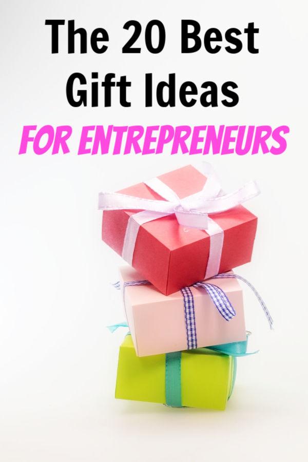 mejores ideas de regalos para emprendedores