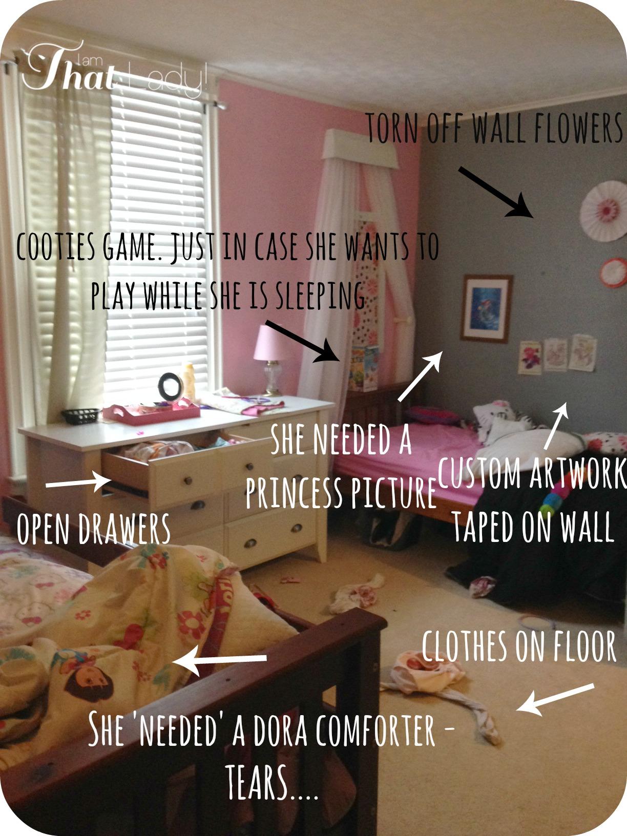 Después de la foto de la habitación de las chicas