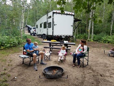 acampar con un rv