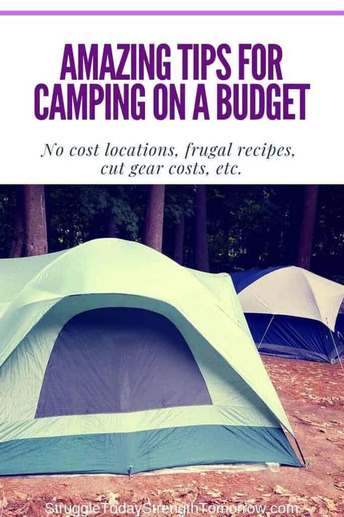 14 de los mejores trucos de presupuesto para ahorrar dinero en acampar