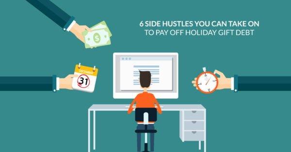 6 ajetreos laterales que puede asumir para pagar la deuda de regalo navideño