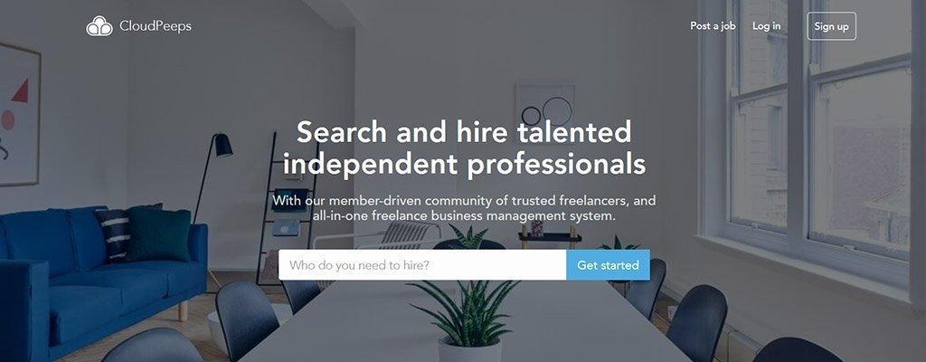 trabajos independientes - cloudpeeps
