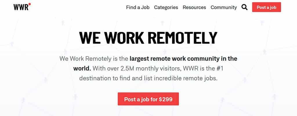 trabajamos de forma remota
