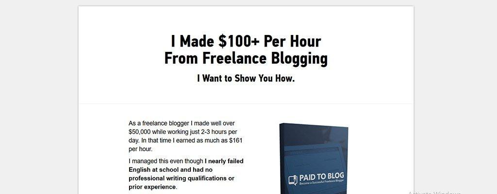 pagado al blog - sitios de trabajo independientes