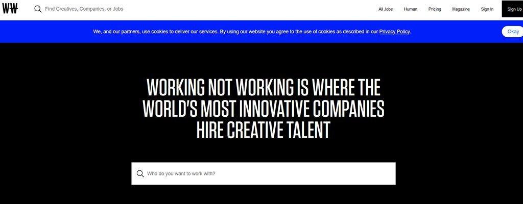 working not working - freelance job sites