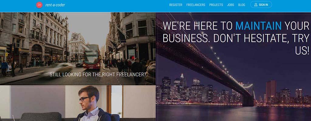 freelance jobs - rent a coder