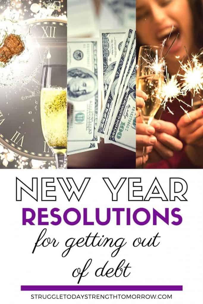 ¿Te encuentras harto de estar endeudado? Con estos objetivos de año nuevo, puede establecer resoluciones alcanzables de año nuevo que pueden ayudarlo a salir de la deuda y mantenerse motivado. #financiamiento personal #nuevosyños #resoluciones de año nuevo # administración del dinero #pago de deuda #makemoney # metas