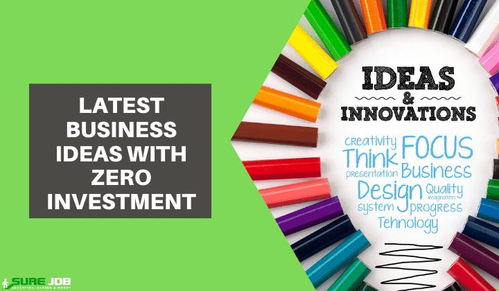 ideas de negocio de inversión cero