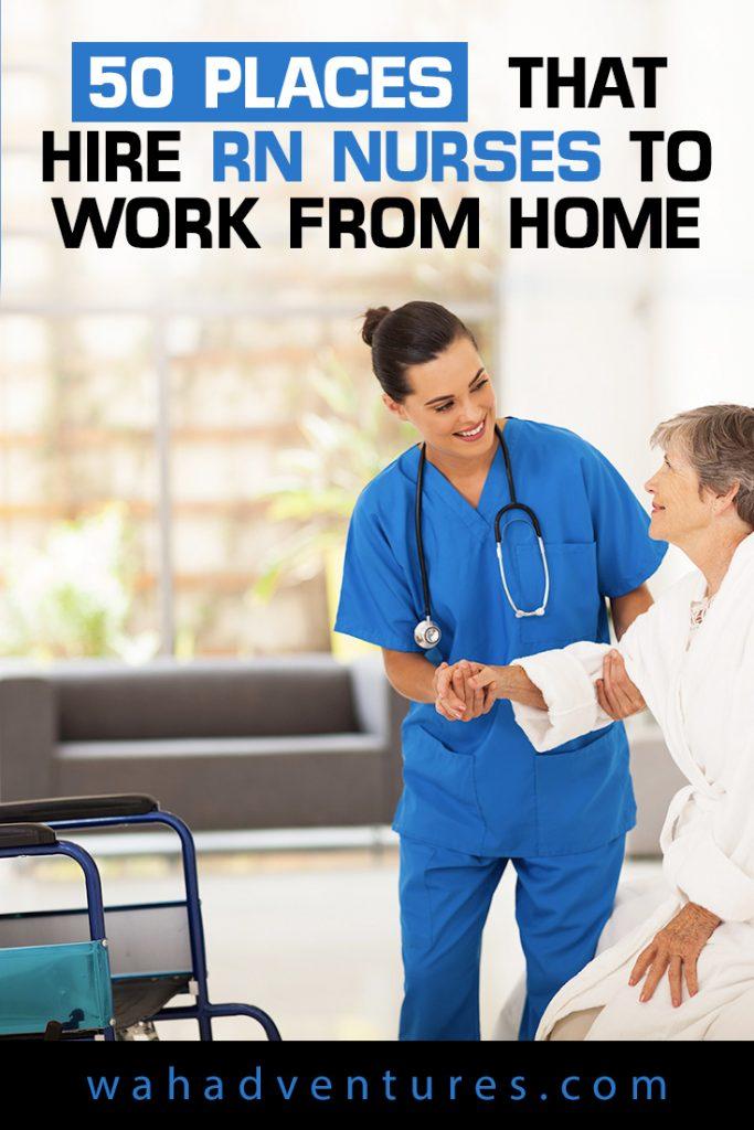 ¿Es usted un RN en busca de trabajo de enfermería en el hogar? ¡Estos trabajos pagan salarios y beneficios competitivos, y usted puede trabajar desde su oficina en casa!