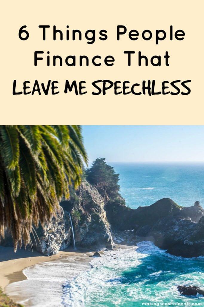 6 cosas que la gente financia que me dejan sin palabras #moneysavingtip #howtosavemoney #debtfreejourney