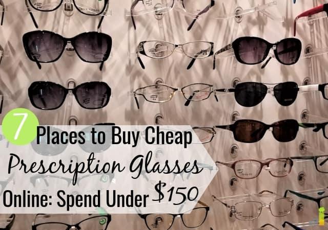 7 mejores lugares para comprar gafas baratas en línea