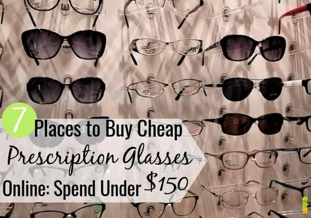 Puedes comprar gafas baratas en línea por mucho menos que una tienda. Aquí están los 7 mejores lugares para comprar anteojos recetados baratos en línea y ahorrar un 50% o más.