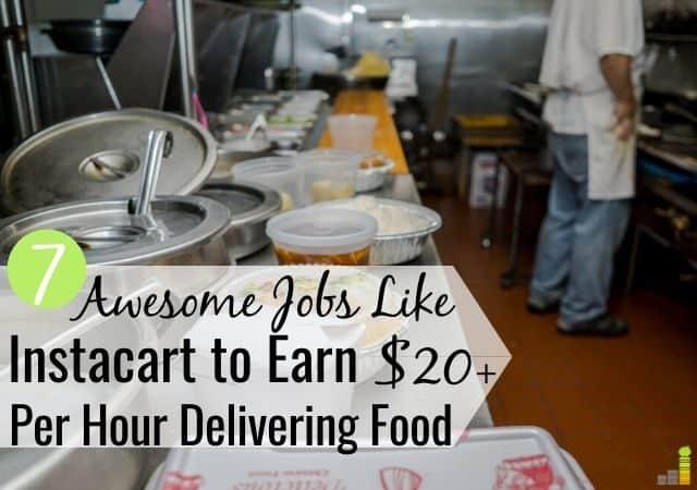 Los trabajos de entrega como Instacart Shopper son una buena manera de ganar dinero extra. Aquí están los 7 mejores conciertos similares a Instacart Shopper para ganar dinero entregando comida.