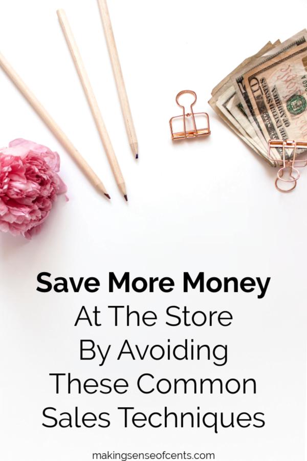 Ahorre más en la tienda evitando estas técnicas de venta comunes #salestechniques #savemoney