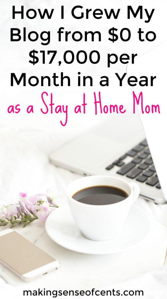Esta bloguera aumentó su sitio web de $ 0 a $ 17,000 por mes, en solo un año. Aquí es exactamente cómo ella logró esto.