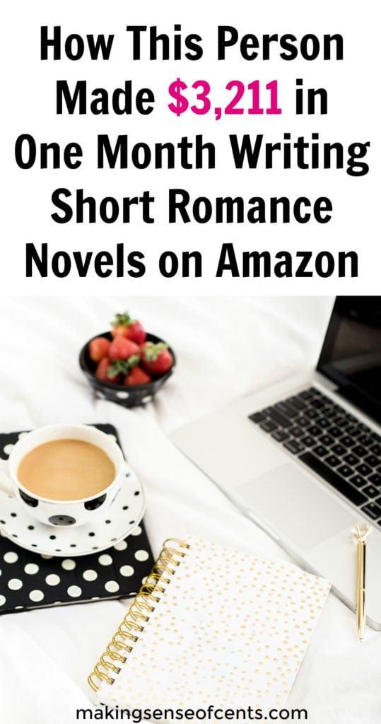 ¿Sabías que puedes ganar dinero escribiendo romance? ¡En un mes, esta persona pudo ganar $ 3,211.57 escribiendo historias románticas para adultos!