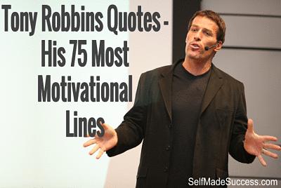 Tony Robbins Quotes – His 75 Most Motivational Lines