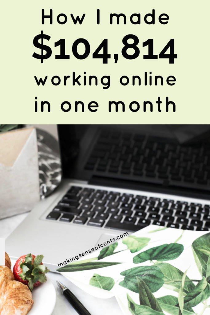 Cómo gané $ 104,814 en septiembre de 2018 Trabajando desde casa #workingfromhome #workingonline #incomereport #howtostartablog