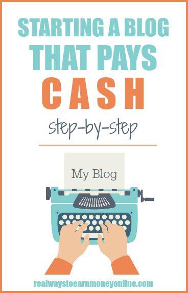Cómo comenzar un blog paso a paso: una descripción general. #blog #blogger #blogging #makemoneyblogging #startablog