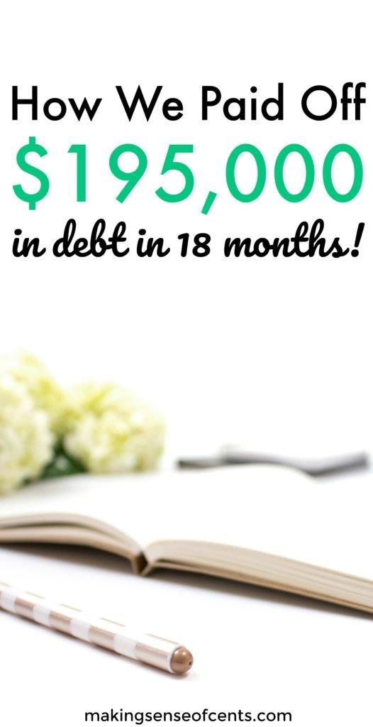 Sami y Dallas saldaron deudas por un monto de $ 195,000 en solo 18 meses. Puede leer más sobre su increíble historia de pago de deudas aquí. ¡Aquí están sus consejos para ayudarlo a pagar deudas rápidamente, encontrar motivación y más!