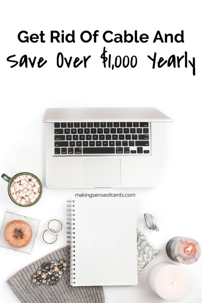 Corte el cable y ahorre más de $ 1,000 cada año #getridofcable #moneysavingtips #cutthecord