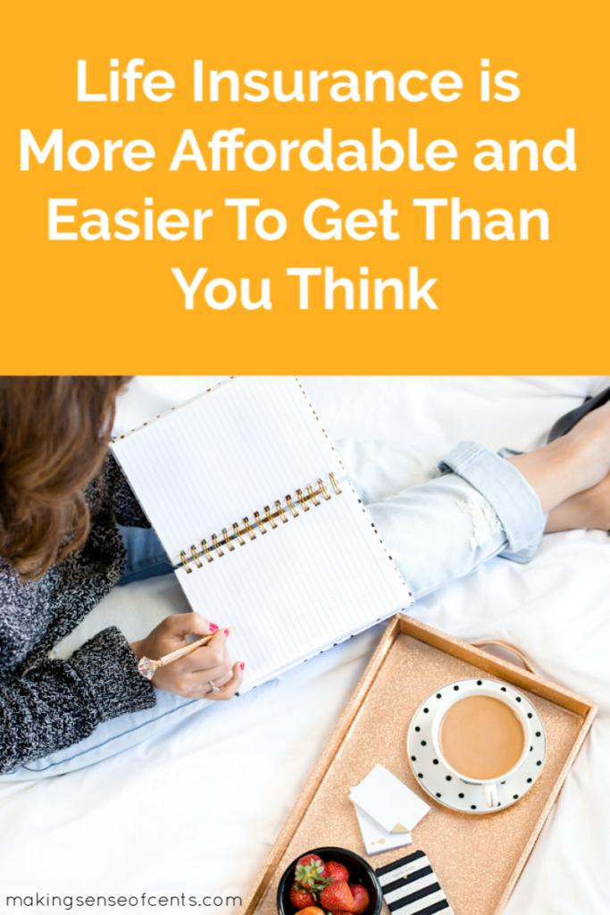 El seguro de vida es más asequible y más fácil de obtener de lo que piensas