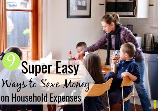 Gastos mensuales comunes del hogar: cómo ahorrar más dinero
