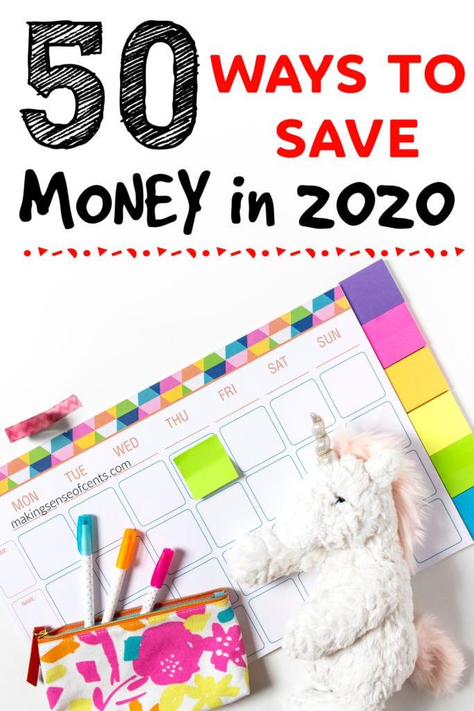 La guía definitiva de más de 50 consejos para ahorrar dinero para 2020
