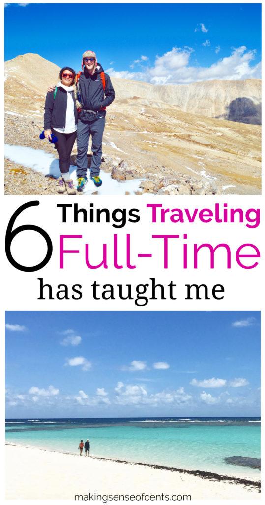 Lo que me ha enseñado viajar a tiempo completo durante 3 años