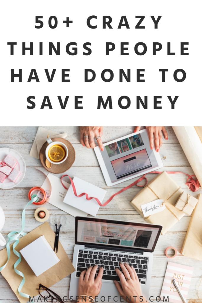Más de 50 locuras que la gente ha hecho para ahorrar dinero #howtosavemoney #moneysavingtips