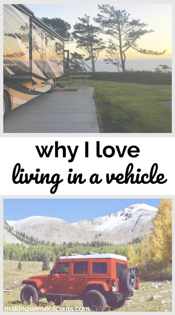 Por qué me encanta vivir en un vehículo #livinginavehicle #livinginacamper #rvlife