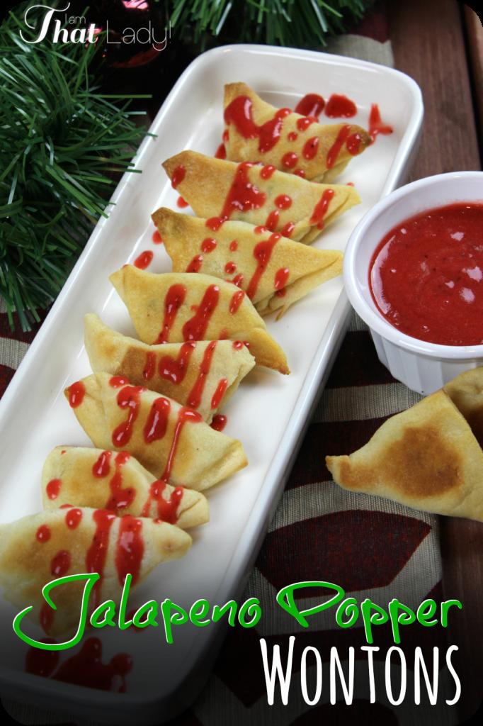 ¿Estás buscando un aperitivo divertido y fácil de preparar para una fiesta? Aquí hay una receta de Jalapeo Popper súper fácil y deliciosa con solo 4 ingredientes. ¡La salsa extra de fresas lo hace aún mejor! #ad #HolidayAdvantEdge