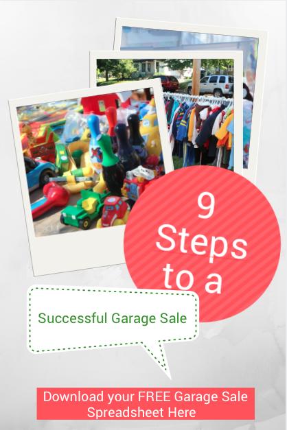 ¡Aquí hay 9 consejos de venta de garaje sobre cómo realizar una venta de garaje exitosa!