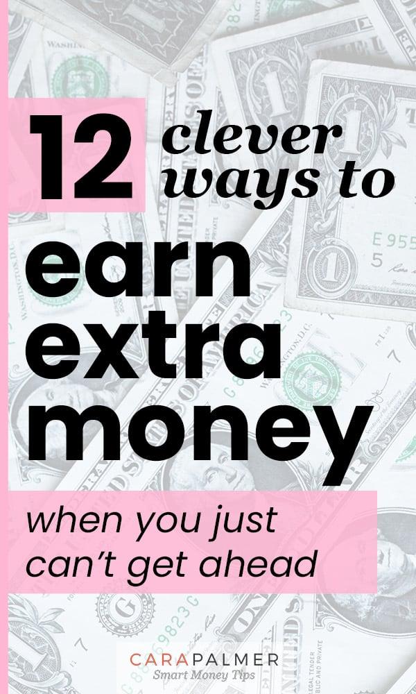 12 maneras de ganar dinero extra