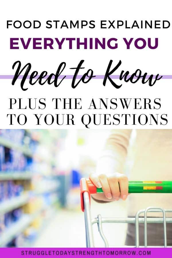 Cupones de alimentos explicados. Todo lo que necesita saber más las respuestas a sus preguntas. ¿Cómo trabajan? ¿Por qué existen? ¿Por qué reciben un informe tan malo? ¿Cómo ayudan a la economía local y más? ¡Nunca supiste que podrían ser tan útiles!