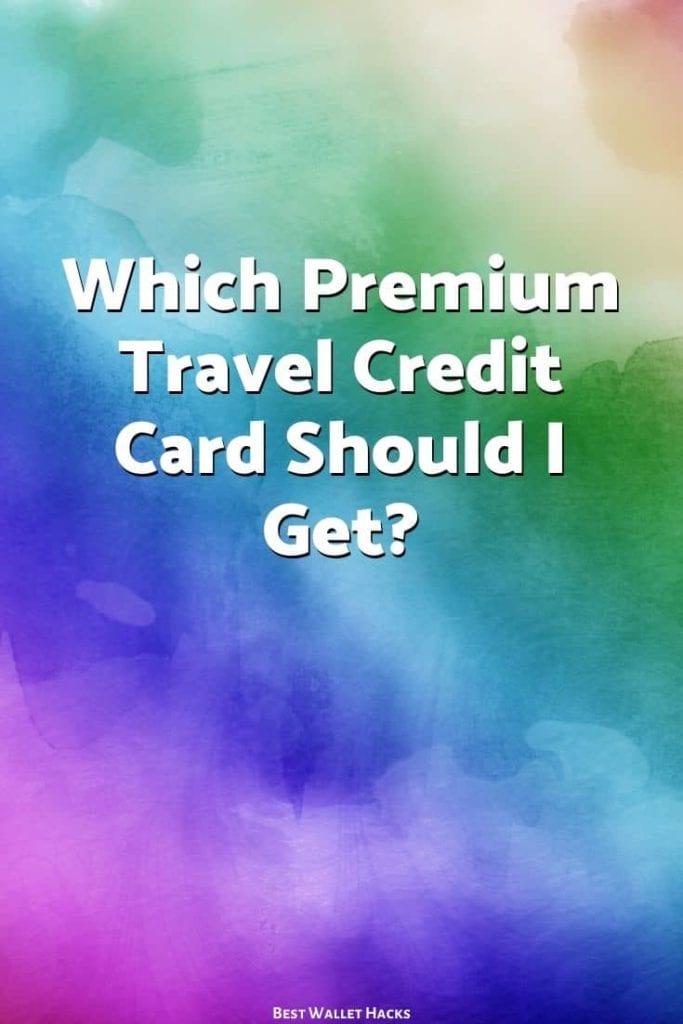 Batalla de las tarjetas de crédito de viaje premium