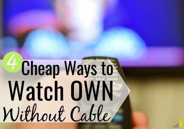 ¿Quieres saber cómo mirar PROPIO sin cable? Aquí hay 4 formas de obtener sus PROPIOS programas PROPIOS sin pagar por cable o satélite y ahorrar en grande.