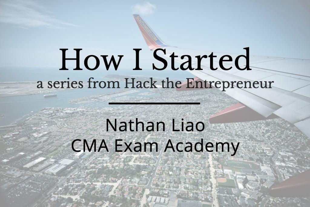 Nathan Liao de CMA Exam Academy