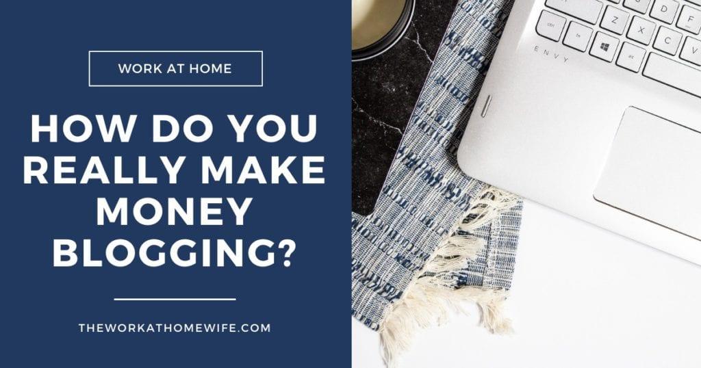 ¿Cómo REALMENTE ganar dinero blogueando?