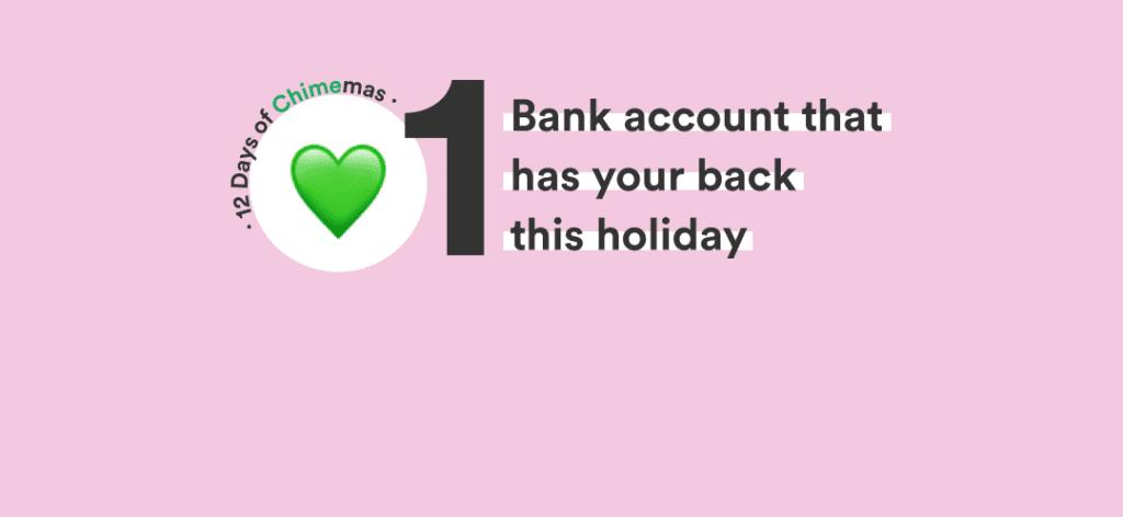 1 cuenta bancaria que estará con usted estas vacaciones y muchas más