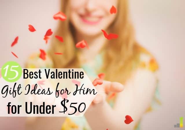 Puede ser difícil encontrar ideas de regalos de San Valentín para él con un presupuesto. Aquí hay 15 de los mejores regalos de San Valentín para él por menos de $ 50 que cualquier hombre amará.