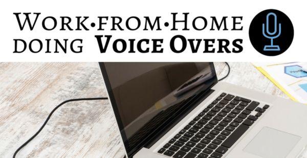trabajar en casa haciendo voces en off