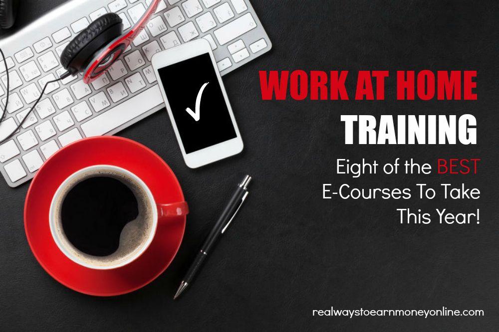 Entrenamiento de trabajo en casa! 8 cursos a considerar
