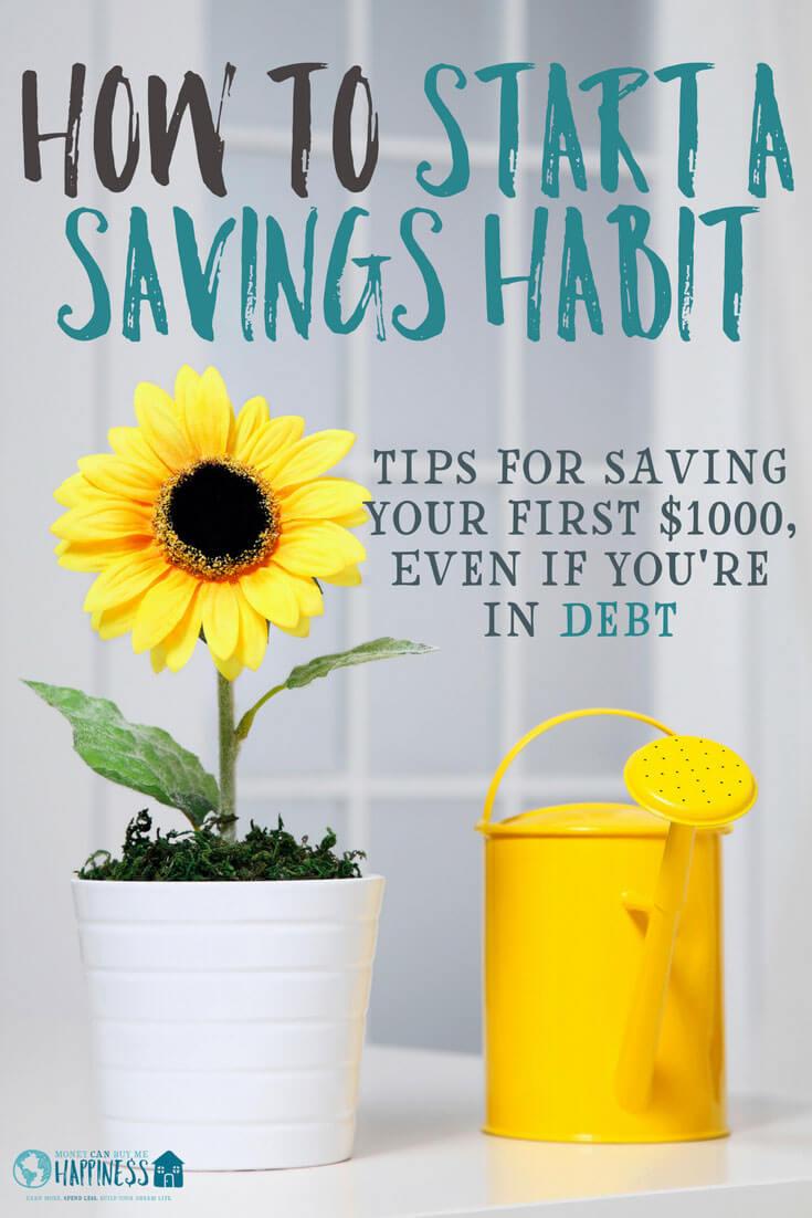 Aprenda cómo comenzar a ahorrar dinero incluso si tiene deudas. Estos consejos lo ayudarán a ahorrar sus primeros $ 1000.