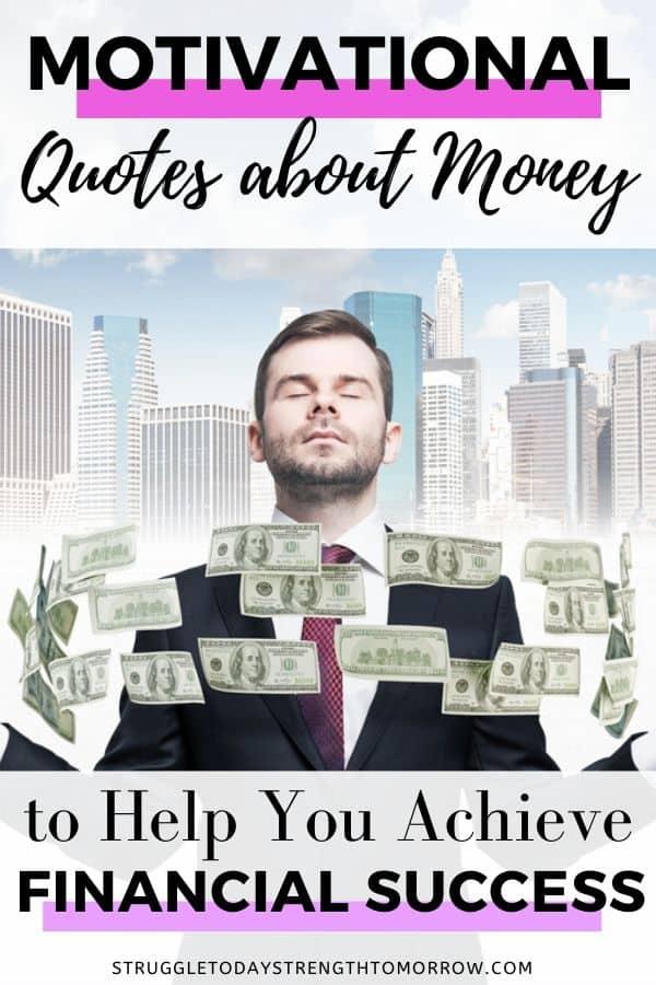 Citas motivacionales sobre el dinero para ayudarlo a alcanzar el éxito financiero. ¡Cotizaciones sobre ahorrar dinero, invertir, trabajar duro, pagar deudas y más! Echa un vistazo a todas estas excelentes citas, mantras y mensajes inspiradores para ayudarte en tu viaje financiero. # citas # citas famosas # daveramsey # dinero #financias # éxito financiero