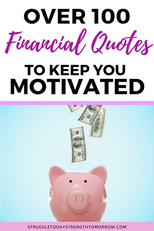 Más de 100 presupuestos financieros para mantenerlo motivado en su viaje financiero. Eche un vistazo a estas citas famosas para que se sienta inspirado en su camino hacia la libertad de la deuda y el éxito financiero. # citas # citas famosas # daveramsey # dinero #financias # éxito financiero