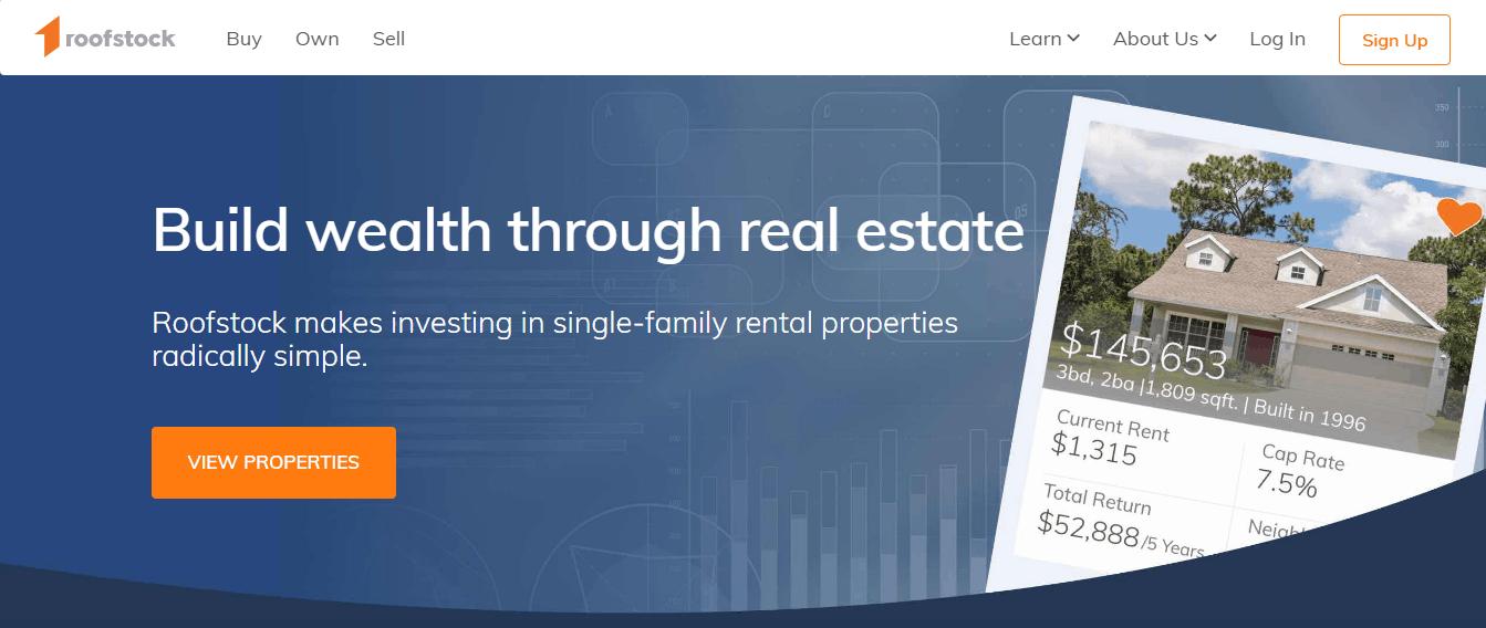 generar ingresos pasivos con propiedades de alquiler en el techo